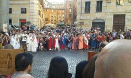"""Les """"Romains"""" sont de retour au Panthéon"""
