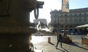 Place de la République, ou place de l'Exèdre