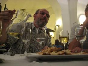 Vin blanc à l'honneur pour Patrick !