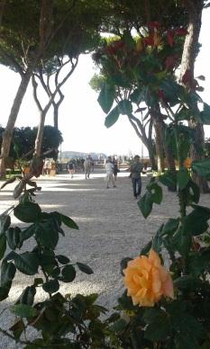 Le jardin des orangers, sur l'Aventin
