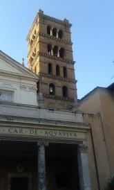 Campanile de Sainte-Cécile, au Transtévère