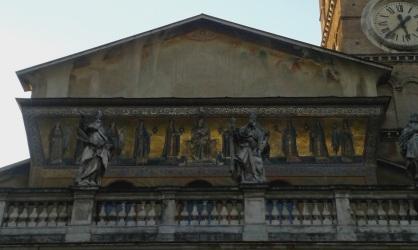 Sainte-Marie-du-Transtévère, une autre très vieille basilique !