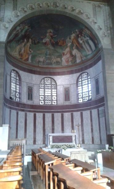 Sainte-Sabine, sur l'Aventin