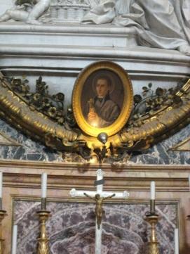 Autel de saint Jean Berchmans dans l'église Saint-Ignace