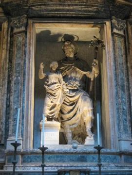 Saint Joseph dans l'église Sainte-Marie des Martyrs (Panthéon)