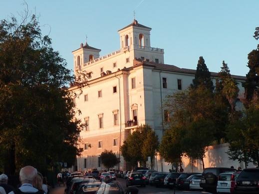 La Villa Médicis, siège de l'Académie de France