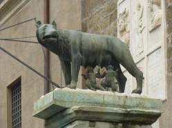 La louve et ses jumeaux