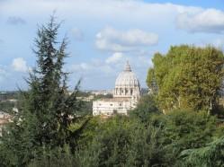 Saint-Pierre vu du Janicule