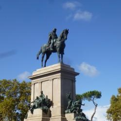 Garibaldi sur son cheval