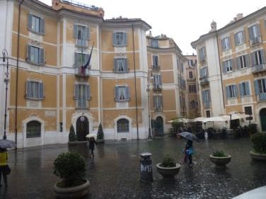 La place Saint-Ignace