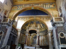 Sainte-Praxède - Arcs et abside