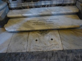 Sainte-Marie-Majeure - la tombe du Bernin