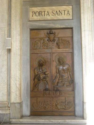 Sainte-Marie-Majeure - la Porte Sainte