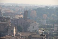 Vers le Forum et Sainte-Françoise-Romaine