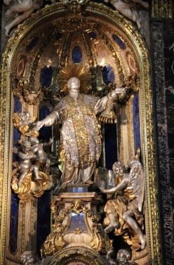 """""""Spectacle"""" de l'autel de saint Ignace au Gesù"""