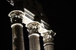Visite nocturne du Forum