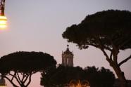 Clocher de Saint-Luc-et-Sainte-Martine Rome