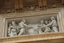 Saint Pierre reçoit les clés du Christ
