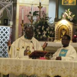 Messe à Saint-Alphonse-de-Liguori (Rome)