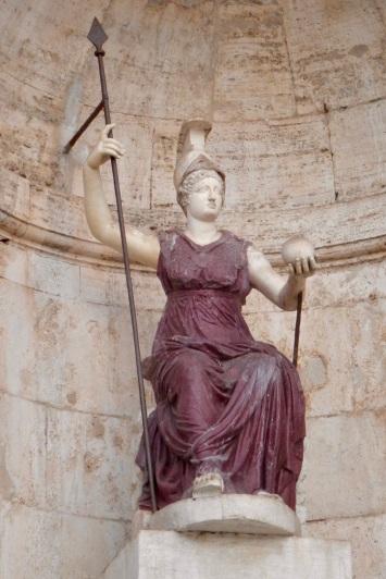 Rome personnifiée et divinisée