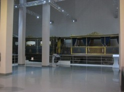Centrale Montemartini - Musées capitolins - Rome - Train de Pie IX