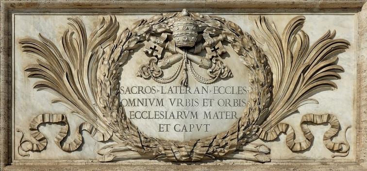 Omnium Urbis et orbis ecclesiarum Mater et Caput - Saint-Jean-de-Latran - Rome