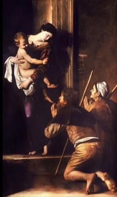 La Madone des pèlerins - Caravage - Saint-Augustin - Rome
